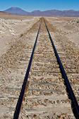 High altitude railway — Stock Photo