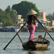 Stock Photo: Mekong trader