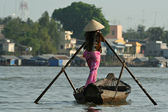 Mekong trader — Stock Photo