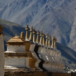 Stock Photo: Budhist stupas