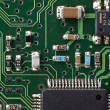 Stock Photo: Microelectronic circiut