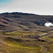 Geothermal powerplant - Stock Photo