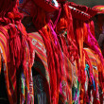 Inca dancers — Stock Photo