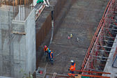 Concreting work — Stock Photo