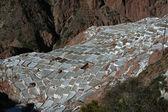 Inca salinas — Stock Photo