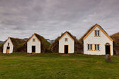 Traditional Iceland houses — Stock Photo