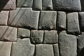 Inca stonemason work — Stock Photo