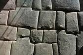 Inca stonemason work — Stock Photo