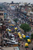 Trafic in India — Stock Photo