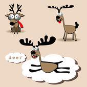 Deer animal — Stock Vector