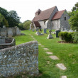 St Marys Church Friston - Stock Photo