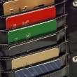 Stock Photo: Credit Cards In Wallet