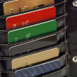 Credit Cards In Wallet — Stock Photo #10937262