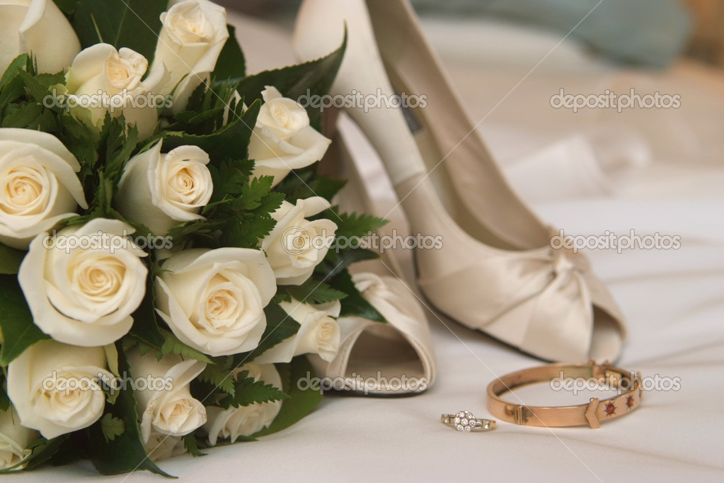 Wedding bouquet — Stock Photo #11081878