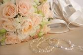 Bruiloft boeket — Stockfoto