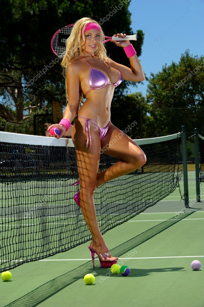 Del porto sexy tennis