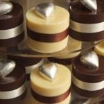 カップケーキのウエディング ケーキ — ストック写真