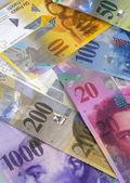 Swiss Bank bills — Stock Photo