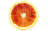 Slice of blood Orange — Stock Photo
