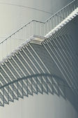 Stairs on a oil storage — Stock Photo
