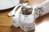 Crystal Salt Shaker — Stock Photo