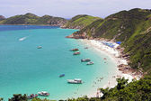 Arraial do Cabo - Caribbean beach in BRAZIL — Stock Photo