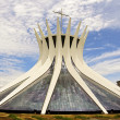 Cathedral of Brasilia - Brazilian Capital — Stock Photo