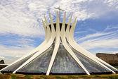 Cathedral of Brasilia - Brazilian Capital — Stock Photo