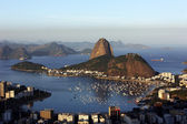 Sugar Loaf bay - BRAZIL — Stock Photo