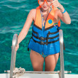Getting ready for a diving — Stock Photo #11368509