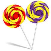Lollipop candy — Stock Vector