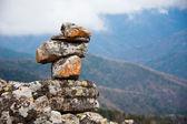 Pyramid of rocks — Stock Photo