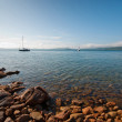 Stock Photo: Quiet picturesque bay