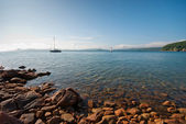 A quiet picturesque bay — Stock Photo
