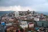 View of Vladivostok city — Stock Photo