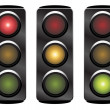 Traffic lights — Stock Vector #11592486