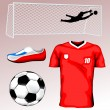 Soccer Jersey - Stock Vector