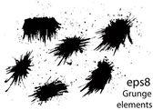 Grunge elements — Stock Vector