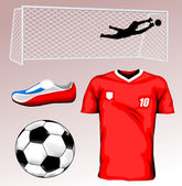 Soccer Jersey — Stock Vector