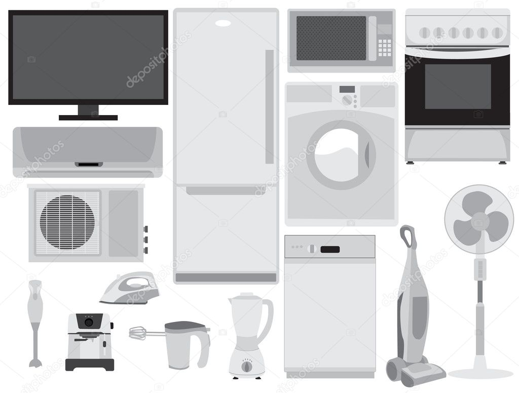 Home electronics  Stock Vector #11592968