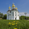 Church of St. Catherine in Chernigov, Ukraine. - Stock Photo