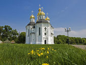 Church of St. Catherine in Chernigov, Ukraine. — Fotografia Stock