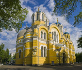 Vladimir Cathedral in Kiev, Ukraine — Fotografia Stock