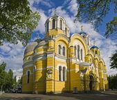 Vladimir Cathedral in Kiev, Ukraine — Stock Photo