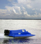 Racing boat — Fotografia Stock