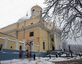Alexander_s Church in Kiev in the winter — Fotografia Stock