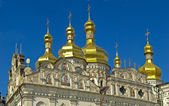 Domes of Uspens`ky Cathedral — Stock Photo