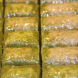 Traditional Turkish dessert Baklava — Stock Photo