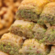 Traditional Turkish dessert Baklava - Stock Photo