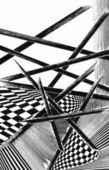 Geometrical background — Stock Photo